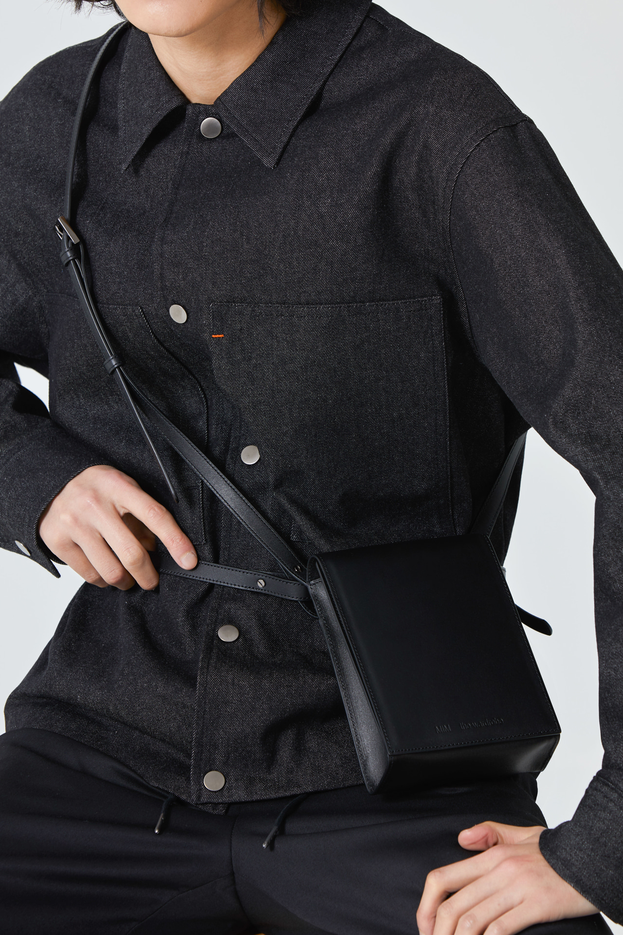 3-Way Leather Minibag_Black